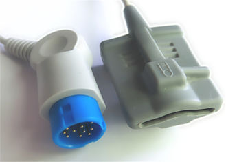 China 12 sensor Philips/HP M1190A/M1350B do Pin Philips Spo2 compatível fornecedor